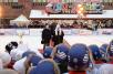 VII детский турнир по русскому хоккею на призы Патриарха на Красной площади в Москве