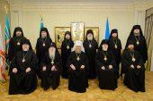 В Алма-Ате состоялось первое в 2017 году заседание Синода Митрополичьего округа Русской Православной Церкви в Республике Казахстан