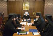 Состоялось первое в 2017 году заседание Архиерейского совета Минской митрополии