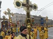 В.Р. Легойда: Крестный ход в Санкт-Петербурге стал свидетельством мирного общественного действия православных христиан