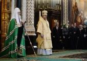 Слово Святішого Патріарха Кирила в Неділю м'ясопусну після Літургії в Храмі Христа Спасителя м. Москви