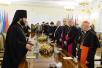 Встреча Святейшего Патриарха Кирилла с участниками первого заседания рабочей группы представителей Русской Православной Церкви и Римско-Католической Церкви в Италии