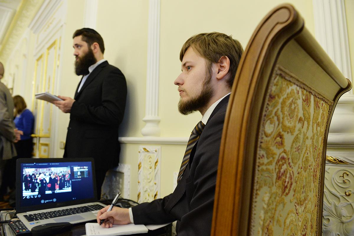 Заседание Президиума Межрелигиозного совета России под председательством Святейшего Патриарха Кирилла