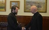 Митрополит Волоколамский Иларион встретился с председателем Католической епископской конференции Италии