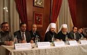 Митрополит Волоколамский Иларион встретился с послами одиннадцати арабских государств