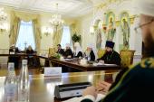 Святейший Патриарх Кирилл возглавил заседание Президиума Межрелигиозного совета России