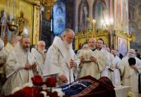 В Троице-Сергиевой лавре состоялось отпевание и погребение архимандрита Кирилла (Павлова)