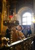 Патриаршее служение в день памяти святителя Алексия Московского в Богоявленском кафедральном соборе г. Москвы
