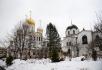 Патриаршее служение в понедельник первой седмицы Великого поста в Зачатьевском ставропигиальном монастыре
