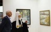Поздравление Святейшего Патриарха Кирилла художнику В.И. Нестеренко с 50-летием со дня рождения