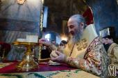 В Прощеное воскресенье Предстоятель Украинской Православной Церкви совершил богослужение в Киево-Печерской лавре