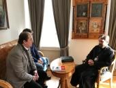 Митрополит Волоколамский Иларион встретился с председателем Российско-киргизского делового совета