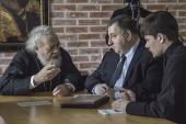 Генеральный секретарь Движения православной молодежи Антиохийской Православной Церкви провел в Москве ряд встреч с представителями Русской Православной Церкви
