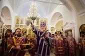 Предстоятель Русской Церкви совершил чин великого освящения храма святителей Афанасия и Кирилла Александрийских на Сивцевом Вражке г. Москвы