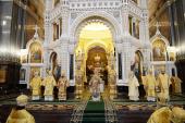Слово Святейшего Патриарха Кирилла в Неделю Торжества Православия после Литургии в Храме Христа Спасителя в Москве