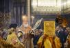 Патриаршее служение в Неделю Торжества Православия в Храме Христа Спасителя в Москве
