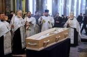 В Александро-Невской лавре Санкт-Петербурга прошли похороны протоиерея Григория Красноцветова