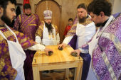 В станице Наурской (Чеченская Республика) совершено великое освящение нового православного храма
