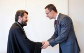Председатель Отдела внешних церковных связей встретился с министром иностранных дел Венгрии