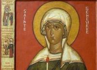 В месяцеслов Русской Православной Церкви включены имена древних святых, подвизавшихся в западных странах