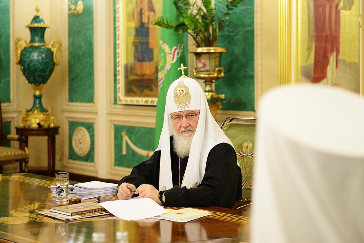 Заседание Священного Синода Русской Православной Церкви от 9 марта 2017 года