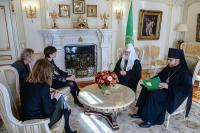 Святейший Патриарх Кирилл встретился с Чрезвычайным и Полномочным послом Нидерландов в Российской Федерации