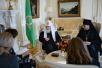 Встреча Святейшего Патриарха Кирилла с Чрезвычайным и Полномочным послом Нидерландов в Российской Федерации