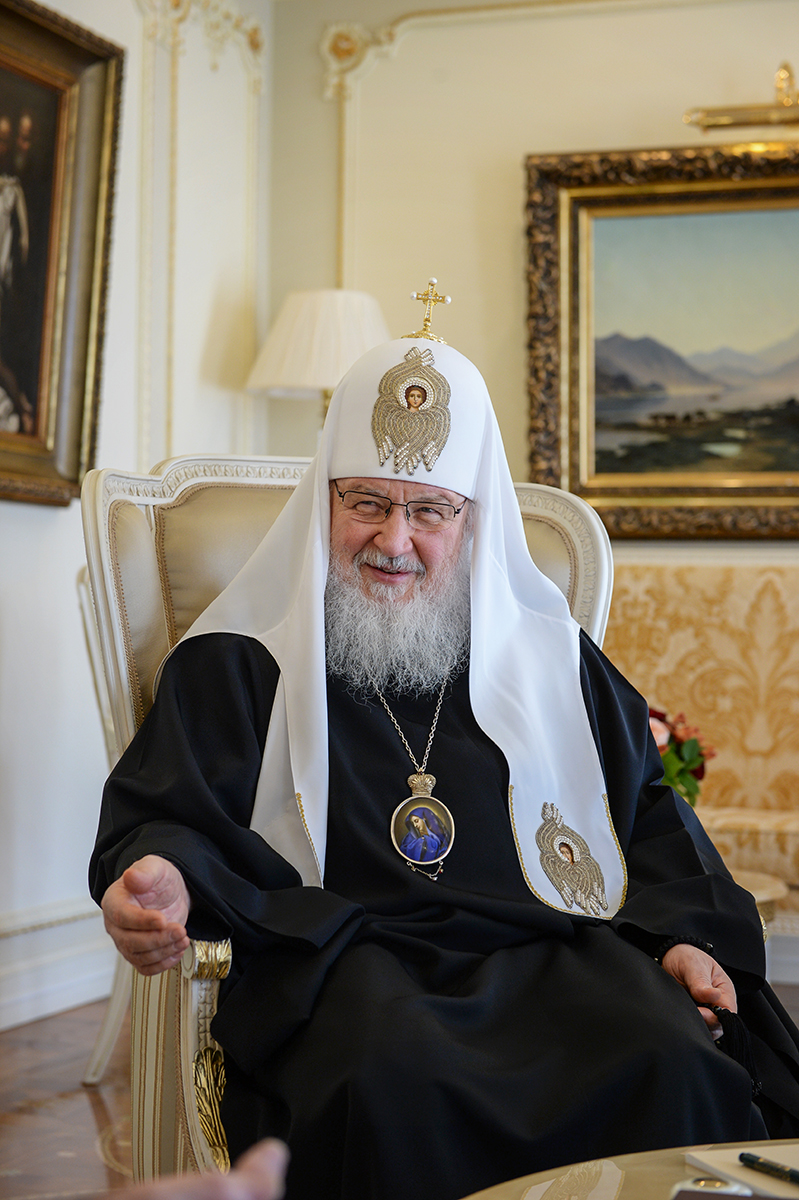 Встреча Святейшего Патриарха Кирилла с послом Республики Колумбия в Российской Федерации
