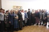 Итоги деятельности Союза православных женщин Ульяновской области в 2016 году подведены на встрече в Мелекесском епархиальном управлении
