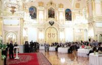 Святейший Патриарх Кирилл посетил торжественный прием в Кремле по случаю юбилея Н.И. Ельциной