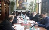 Состоялось заседание новообразованной комиссии Межсоборного присутствия по церковному праву