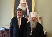 Управляющий делами Московской Патриархии встретился с мэром Корфу