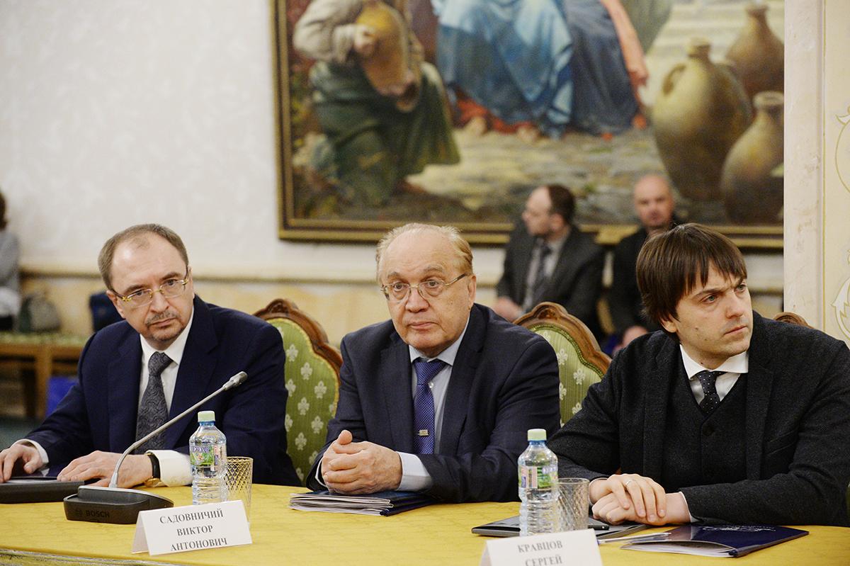 Заседание Президиума Общества русской словесности