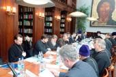 В Москве прошло первое заседание комиссии Межсоборного присутствия по вопросам общественной жизни, культуры, науки