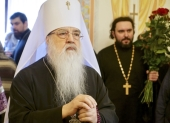 В Минске молитвенно отметили день рождения митрополита Филарета, почетного Патриаршего экзарха всея Беларуси
