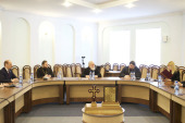 Патриарший экзарх всея Беларуси встретился с представителями Белорусского фонда мира, Делового клуба женщин Беларуси и России и евразийских интеграционных структур