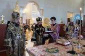 A început vizita de lucru a președintelui Departamentului pentru relațiile externe bisericești în Cipru