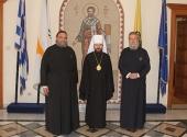 Митрополит Волоколамский Иларион встретился с Блаженнейшим Архиепископом Кипрским Хризостомом