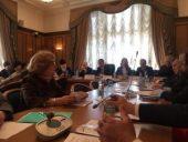 Председатель Синодального комитета по взаимодействию с казачеством выступил на прошедшем в Государственной Думе круглом столе, посвященном поддержке семей и повышению рождаемости