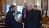 Председатель Отдела внешних церковных связей принял вице-президента Всемирной лютеранской федерации