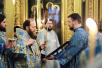 Утреня с чтением Акафиста Пресвятой Богородице в Богоявленском кафедральном соборе г. Москвы