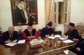 Санкт-Петербургская духовная академия заключила договор о сотрудничестве с Богословским факультетом Никосийского университета