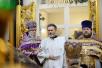 Патриаршее служение в Неделю 5-ю Великого поста в храме святого праведного Иоанна Русского в Фили-Давыдкове в Москве