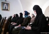 В Иоанно-Предтеченском монастыре продолжается цикл семинаров по истории чинов монашеского пострига