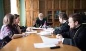 Состоялось первое заседание Комиссии по согласованию рукоположения в священный сан лиц, не обладающих образовательным цензом