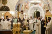 Святейший Патриарх Кирилл совершил литию по погибшим в результате теракта в Санкт-Петербургском метрополитене