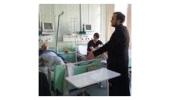 Студенты Санкт-Петербургской духовной академии навестили в Мариинской больнице пострадавших при теракте