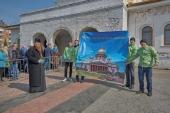 В епархиях прошли акции в поддержку передачи Исаакиевского собора Санкт-Петербурга в пользование Церкви