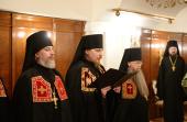 Слово архимандрита Тарасия (Перова) при наречении во епископа Великоустюжского и Тотемского