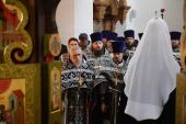 Проповедь Святейшего Патриарха Кирилла в Великий Понедельник после Литургии в Донском ставропигиальном монастыре